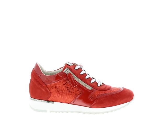 2b7617d46f9 dl sport sneaker rood 3835 nubuk ribes rosso armonia 965 vernice ...