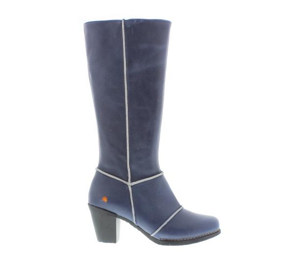Lange laarzen donkerblauw
